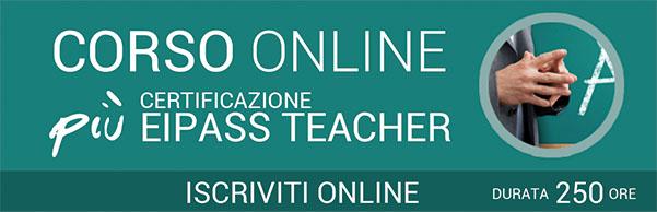 Corso online e certificazione EIPASS Teacher